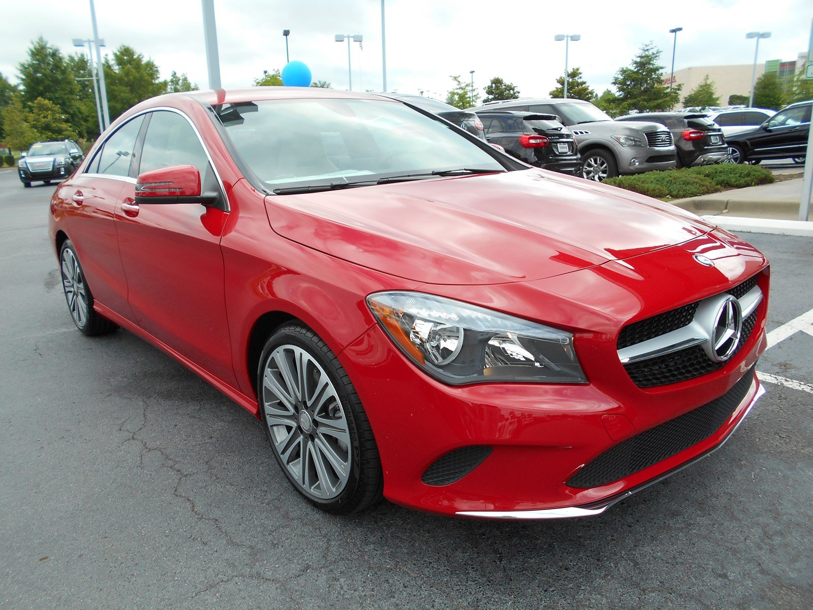 New 2018 mercedes benz cla cla 250 coupe in little rock for Mercedes benz cla 250 msrp